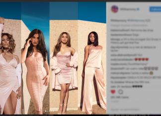 """Source image de l'article : Publication du compte Instagram @FifthHarmony de l'extrait du prochain single """"He Like That""""."""