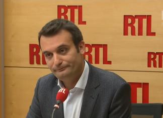 """Source: Capture d'écran de la vidéo """"Florian Philippot était l'invité de RTL le 22 septembre 2017"""" publiée par """"RTL - Toujours avec vous"""" sur Youtube."""