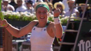 """Sources images : Capture d'écran de l'émission """"Tennis"""" diffusée sur France 2"""