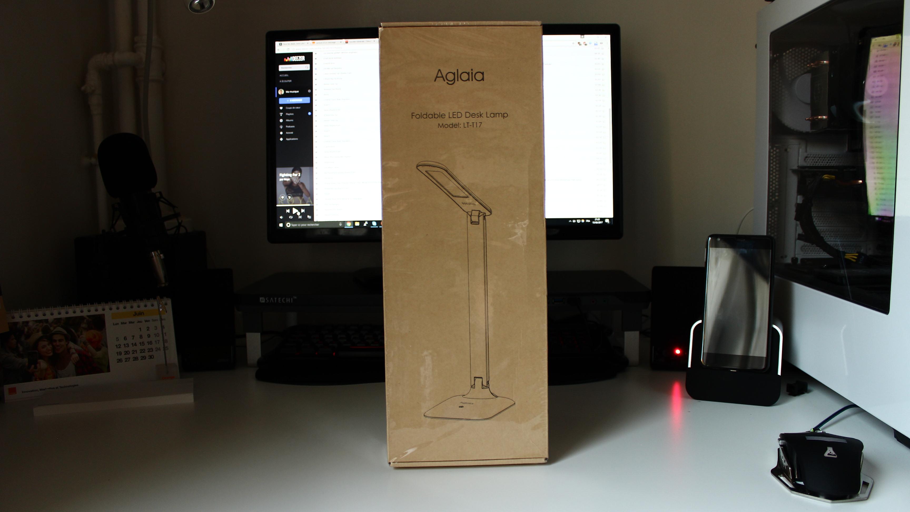 CONCOURS-TEST: Une lampe design à moins de 25 euros? – Test de la lampe Aglaia Design LED